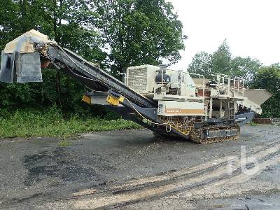 2009 METSO LT200H Lokotrack Crawler Cone Crusher Lot #145