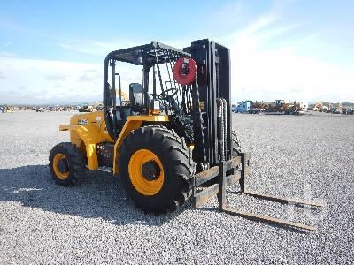 2016 JCB 940-4 8800 Lb 4x4 Rough Terrain Forklift Lot #120