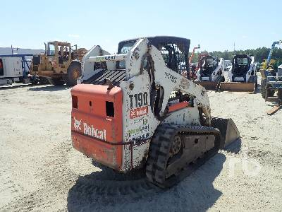 2007 BOBCAT T190 Compact Track Loader | Ritchie Bros