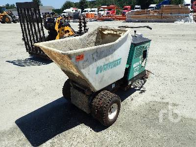 2013 MULTIQUIP WBH16EF Ride On Concrete Buggy Lot #5781