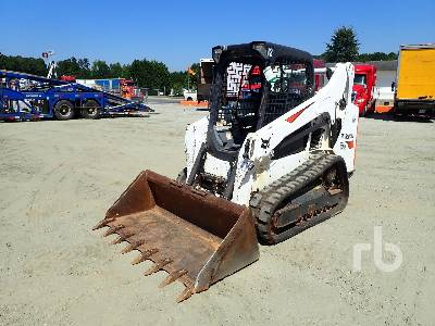 2016 BOBCAT T590 2 Spd Compact Track Loader Lot #77