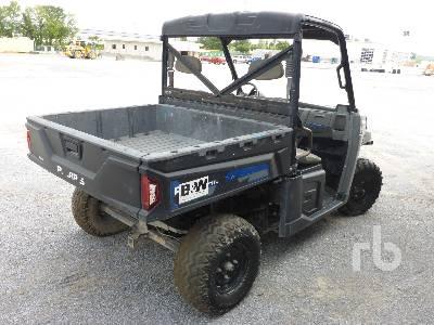 2013 POLARIS BRUTUS 4x4 INOPERABLE Utility Cart | Ritchie