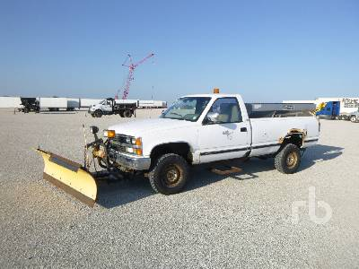 Plow Trucks For Sale >> 1988 Chevrolet 2500 4x4 Plow Truck Ritchie Bros Auctioneers