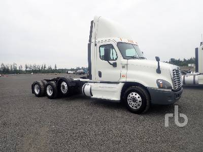 2015 FREIGHTLINER Cascadia Day Cab Truck Tractor (Tri/A) | Ritchie