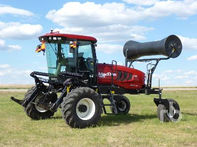 2013 MACDON M205 Swather Lot #92 | Ritchie Bros  Auctioneers