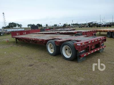 2012 MANAC 13345A000 45 Ft T/A Spread Axle