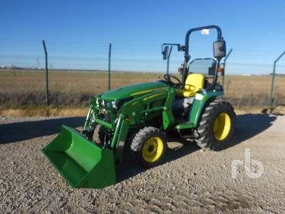 Unused 2020 JOHN DEERE 3038E MFWD Tractor