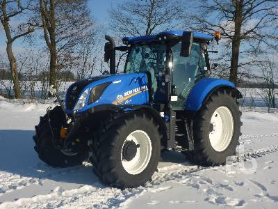 2018 NEW HOLLAND T6.180AC MFWD Tractor