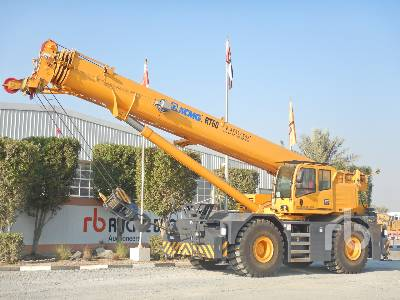 2016 XCMG RT60 60 Ton 4x4x4 Rough Terrain Crane