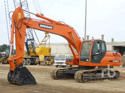2014 DOOSAN DX225LCB Hydraulic Excavator