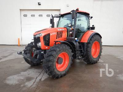 2018 KUBOTA M7132 MFWD Tractor