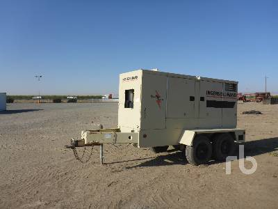 Generator sets for sale in california ironplanet 2001 ingersoll rand 100kva 80 kw portable sciox Choice Image