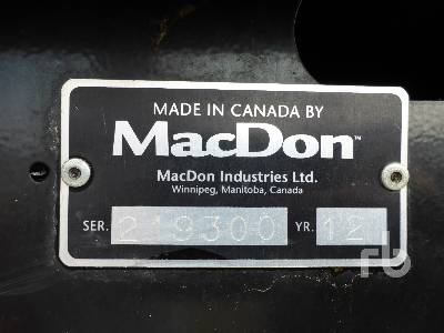 Detail photo of 2012 WESTWARD M105 from Construction Equipment Guide