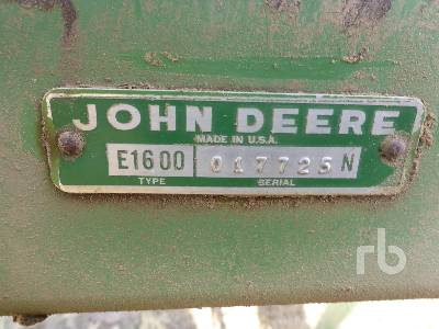 Detail photo of  John Deere 1600 from Construction Equipment Guide