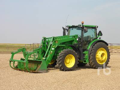 Detail photo of 2013 John Deere 6150R from Construction Equipment Guide