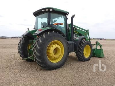 Detail photo of 2012 John Deere 7215R from Construction Equipment Guide