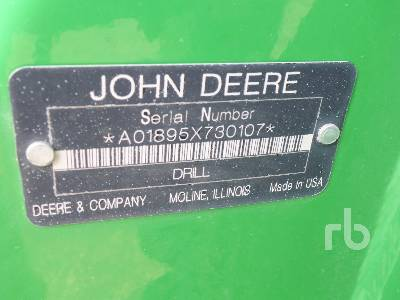 Detail photo of 2008 John Deere 1895 from Construction Equipment Guide