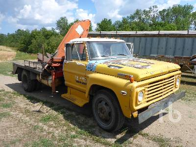 Detail photo of  Ford 600 from Construction Equipment Guide