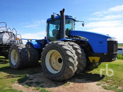 Detail photo of 2003 New Holland TJ425 from Construction Equipment Guide