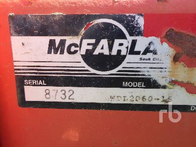 Detail photo of  MCFARLANE WDL2060-16 from Construction Equipment Guide