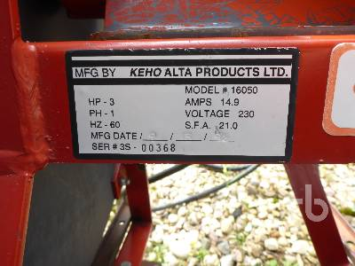 Detail photo of  KEHO 16050 from Construction Equipment Guide