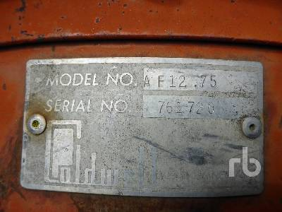 Detail photo of  CALDWELL AF1275 from Construction Equipment Guide
