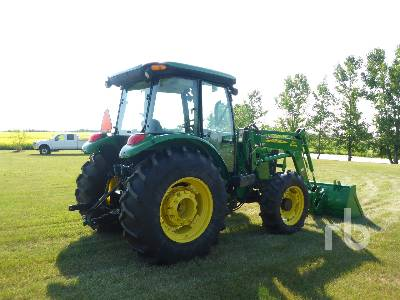 Detail photo of 2011 John Deere 5101E from Construction Equipment Guide