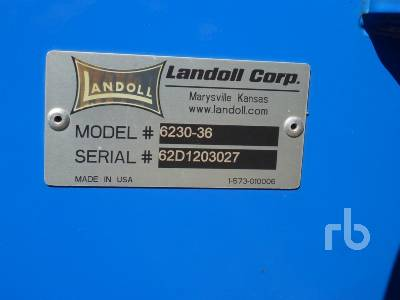 Detail photo of 2012 Landoll 6230 from Construction Equipment Guide
