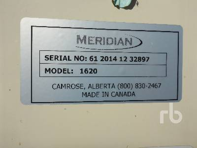 Detail photo of 2014 MERIDIAN 1620 from Construction Equipment Guide