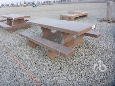 Custombuilt 8 Ft Concrete Picnic Table