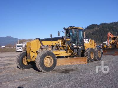 2008 CATERPILLAR 14M VHP Plus Motor Grader