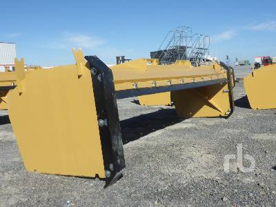 unused 116 in snow pusher skid steer attachment other lot 5221 rh rbauction com