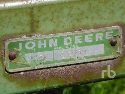 Detail photo of  John Deere VIBERSHANK 1000 from Construction Equipment Guide