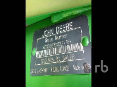 Detail photo of 2004 John Deere 567 from Construction Equipment Guide