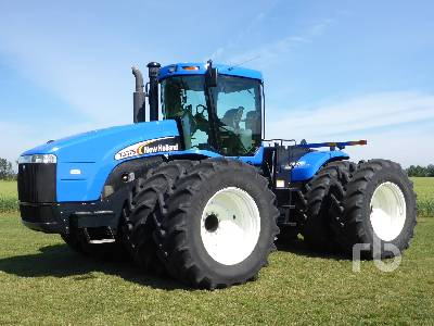 Detail photo of 2006 New Holland TJ375 from Construction Equipment Guide