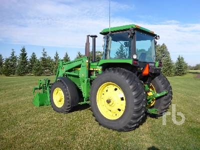 Detail photo of 1987 John Deere 4055 from Construction Equipment Guide