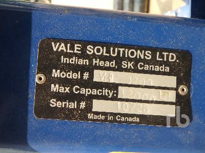 Detail photo of  VALE SOLUTIONS VHL1200 from Construction Equipment Guide