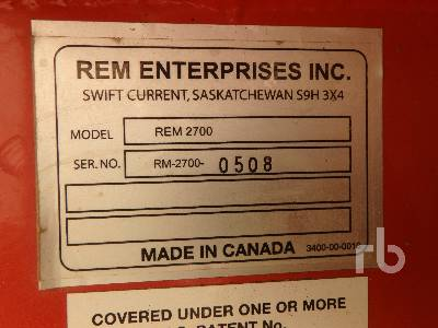 Detail photo of  REM 2700 from Construction Equipment Guide