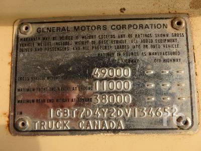 Detail photo of 1983 Chevrolet 70 KODIAK from Construction Equipment Guide