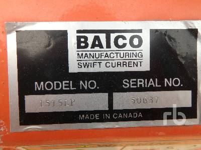 Detail photo of  BATCO 1515LP from Construction Equipment Guide