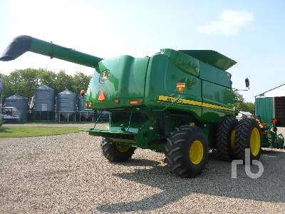 Detail photo of 2010 John Deere 9870STS from Construction Equipment Guide