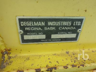 Detail photo of  Degelman R570S from Construction Equipment Guide
