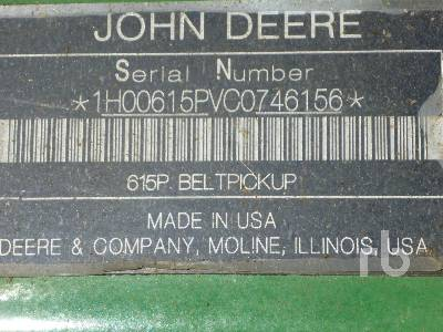 Detail photo of 2012 John Deere 615P from Construction Equipment Guide