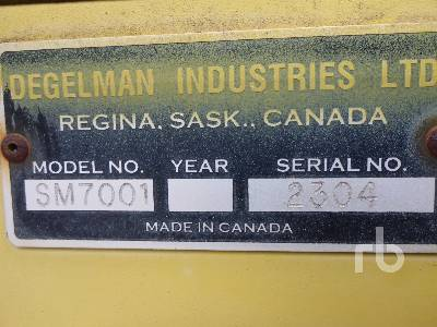Detail photo of 1996 Degelman 7000 from Construction Equipment Guide