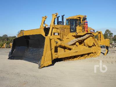 Caterpillar D11T CD Crawler Tractor Specs & Dimensions :: RitchieSpecs