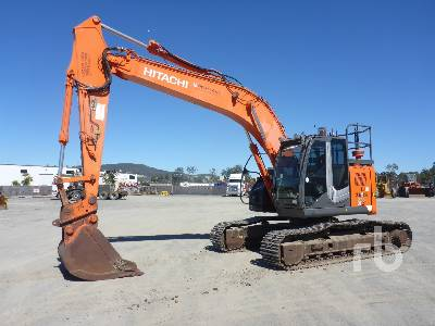 Hitachi ZX200-3 Hydraulic Excavator Specs & Dimensions :: RitchieSpecs