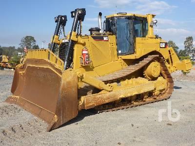Caterpillar D8T Crawler Tractor Specs & Dimensions