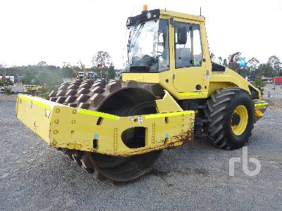 2007 BOMAG BW216PD-4 Vibratory Padfoot Compactor