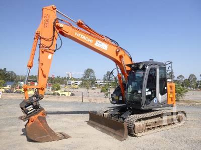 2015 HITACHI ZX135US-3 Hydraulic Excavator