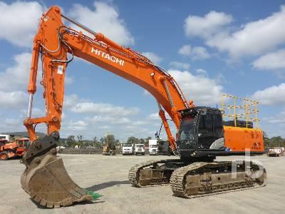 2017 HITACHI ZX490LCH-5A Hydraulic Excavator